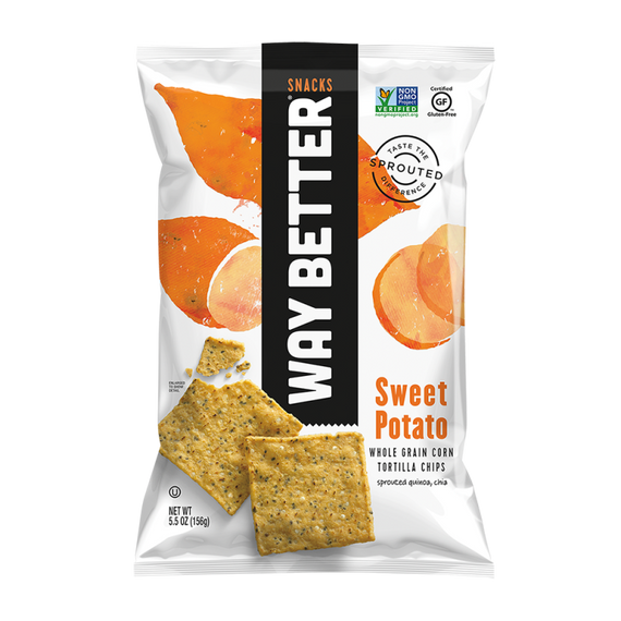 Way Better Snacks - Sweet Potato Tortilla Chips