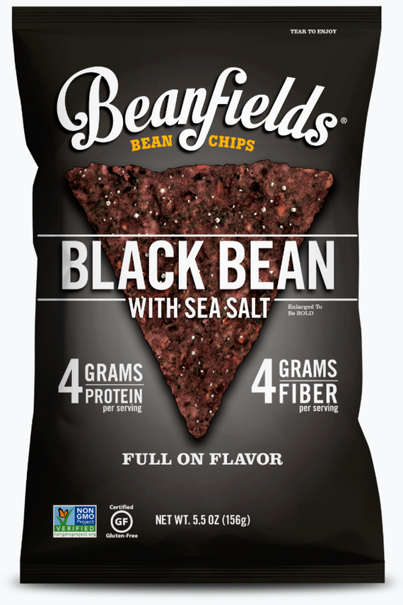 Beanfields Black Bean Chips Sea Salt