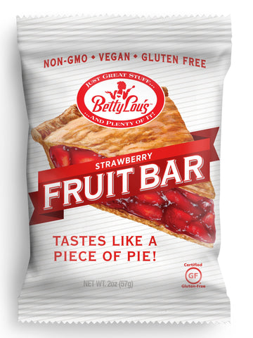 Betty Lou's Gluten Free Fruit Bars Strawberry