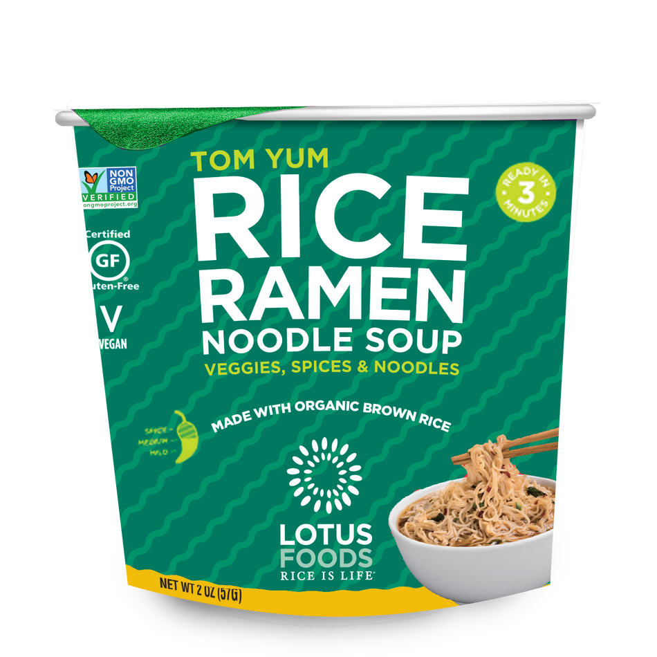 Lotus Foods Tom Yum Rice Ramen Noodle Soup