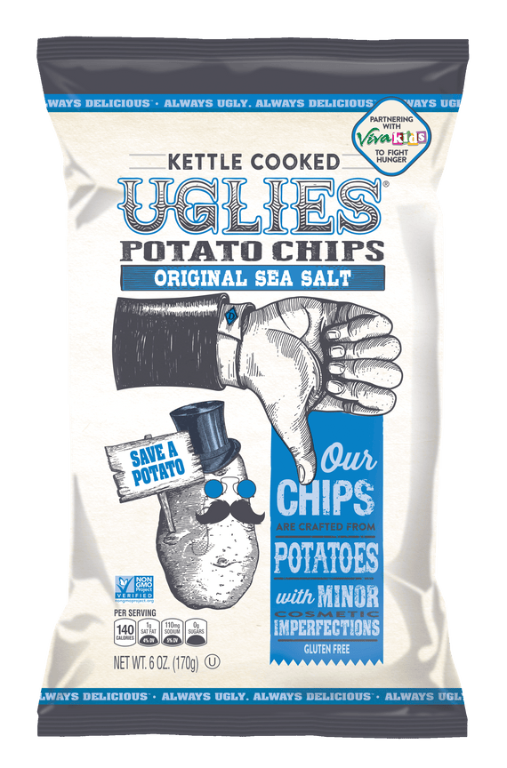 Uglies Sea Salt Kettle Cooked Potato Chips