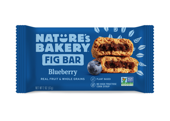 Nature's Bakery Stone Ground Whole Wheat Fig Bar - Blueberry: 36 bars