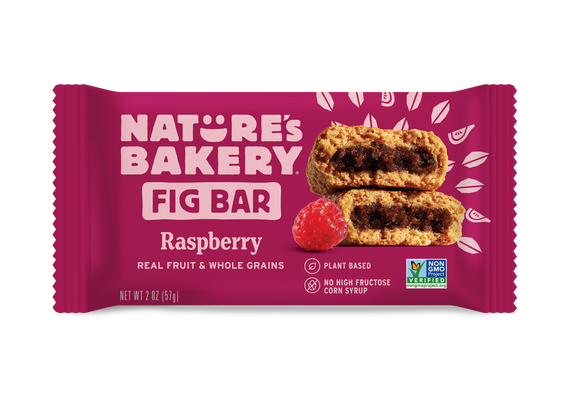 Nature's Bakery Stone Ground Whole Wheat Fig Bar - Raspberry: 12 bars