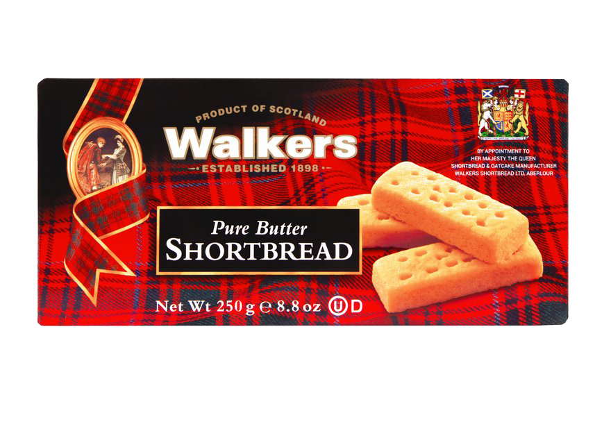 Walker Shortbread Cookie Fingers