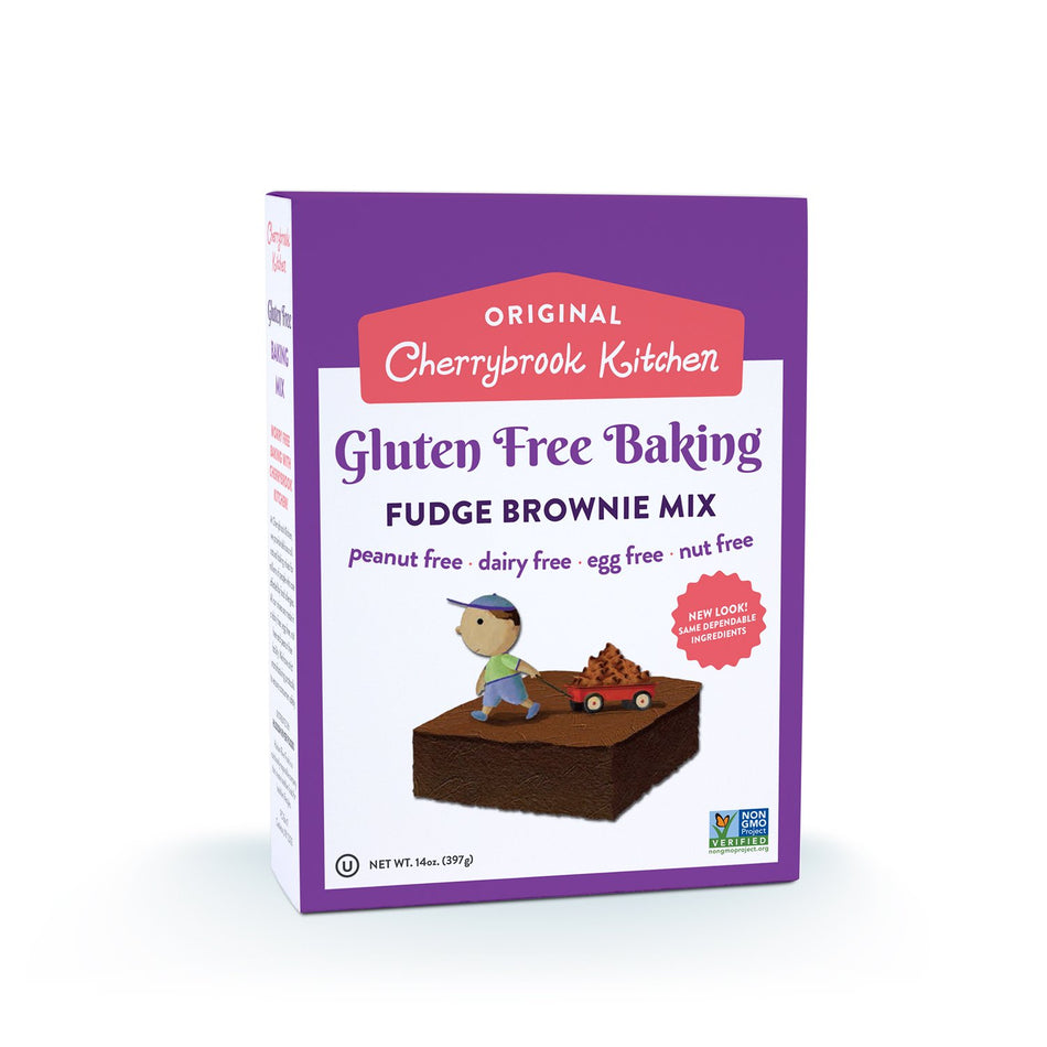 Cherrybrook Kitchen Gluten Free Fudge Brownie Mix