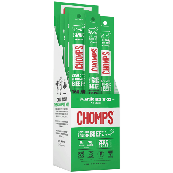 CHOMPS Jalapeno Beef Sticks