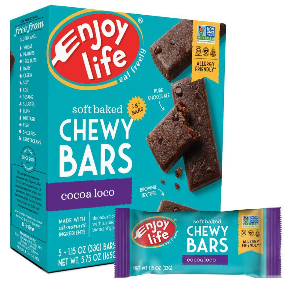 Enjoy Life Cocoa Loco Snack Bar
