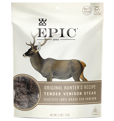 Epic Jerky Bites - Original Hunter's Recipe Venison