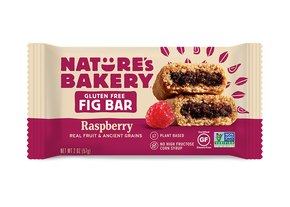Nature's Bakery Ancient Grains Fig Bar - Raspberry (Gluten Free): 36 bars