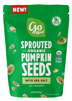 Go Raw Sprouted Organic Snacking Seeds - Sea Salt