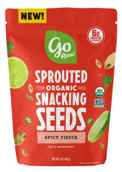 Go Raw Sprouted Organic Snacking Seeds - Spicy Fiesta