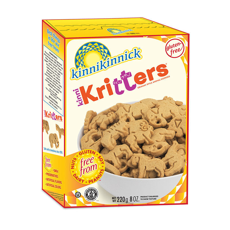 Kinnikinnick Graham Animal Cookies