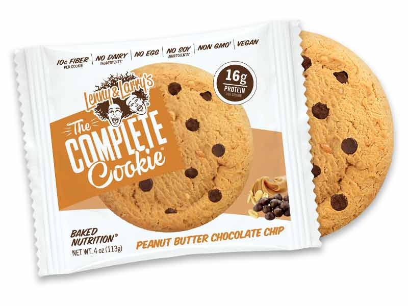 Lenny & Larry's Peanut Butter Chocolate Chip Protein Cookies