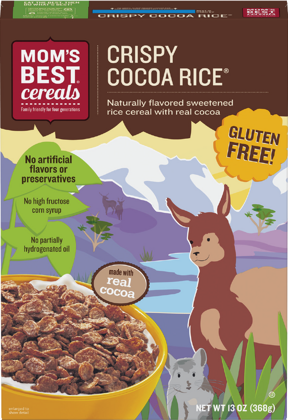 Mom's Best Cereals - Gluten Free Crispy Cocoa Rice Cereal