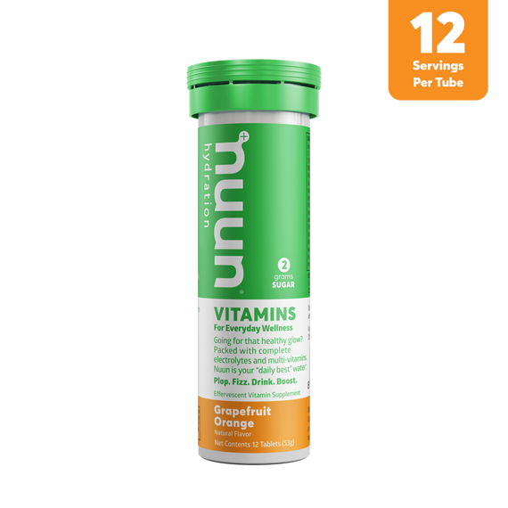 Nuun Hydration - Grapefruit Orange Vitamin Drink Tablets