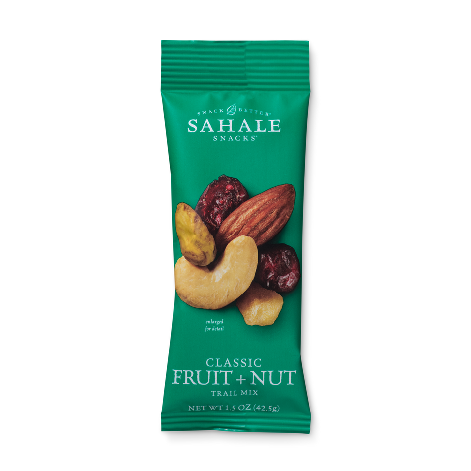 Sahale Snacks Grab & Go Classic Fruit + Nut Trail Mix