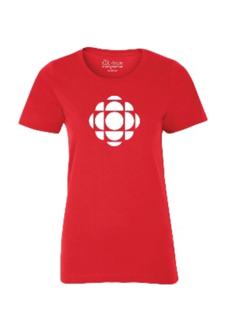 CBC Ladies Cotton Tshirt Red
