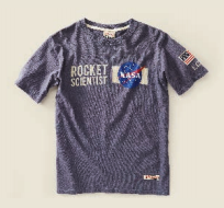 Kids Nasa Tshirts