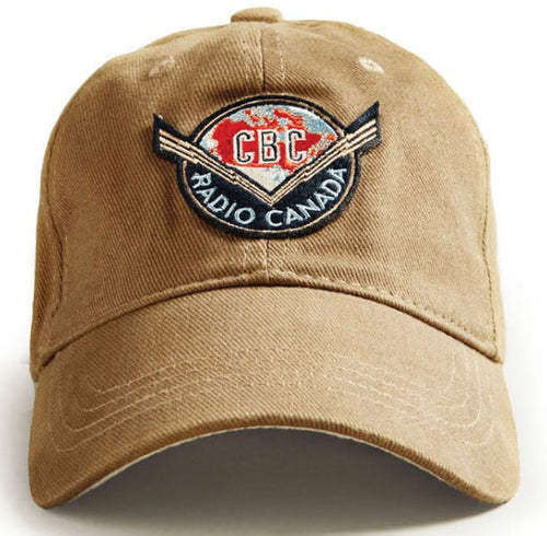 Beige Thunder Bolt CBC  Red Canoe Hat