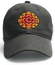 Load image into Gallery viewer, Slate Gem Pattern CBC Red Canoe Hat