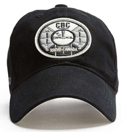 Black Test Pattern CBC Red Canoe Hat