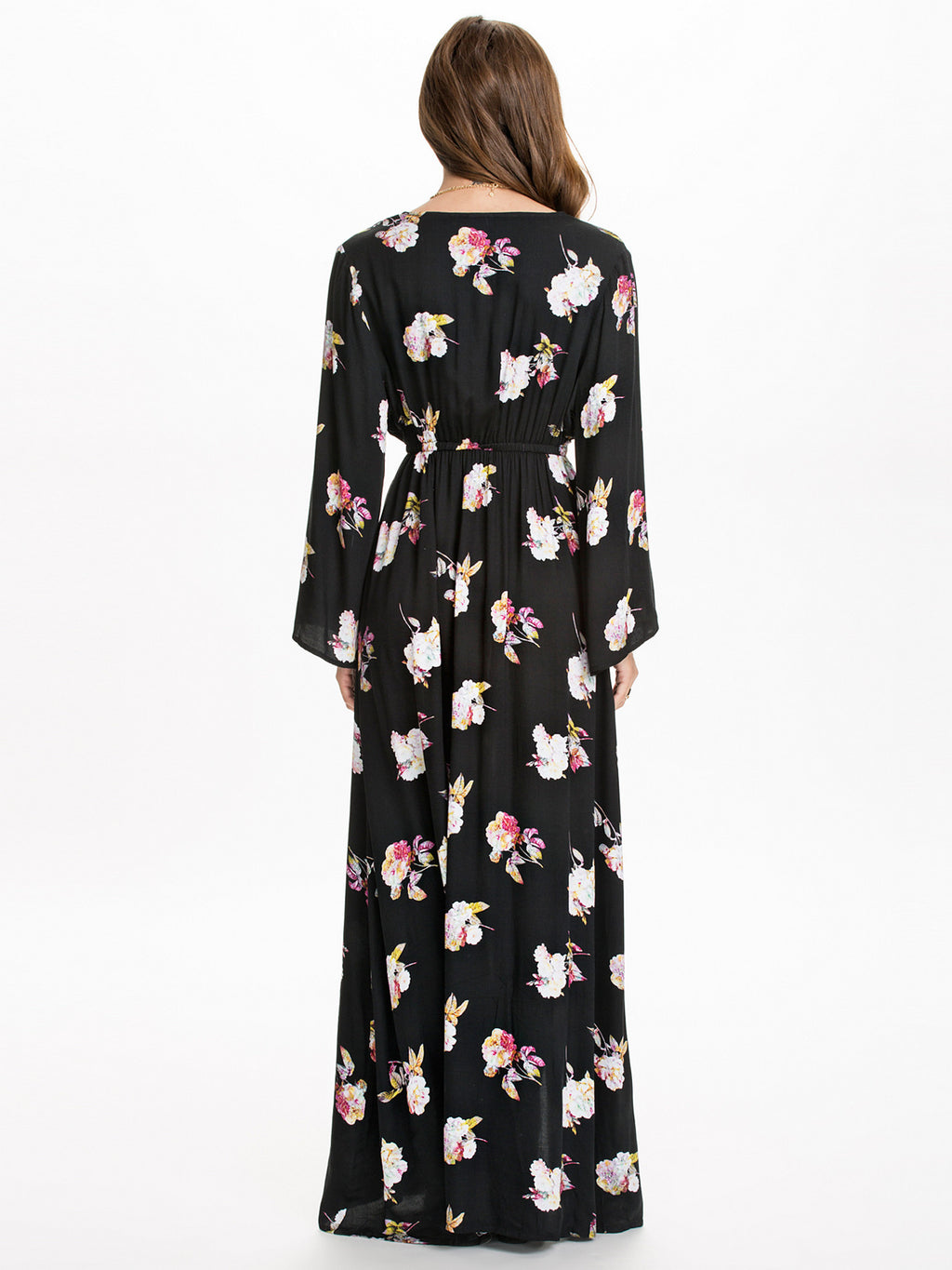 Zenith Floral Maxi Dress (2760839397440)