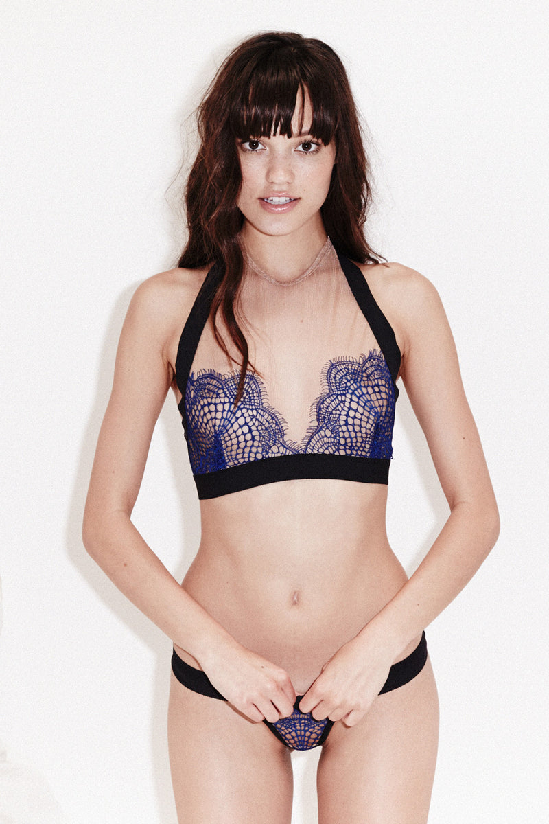 Bat Your Lashes Halter Bra