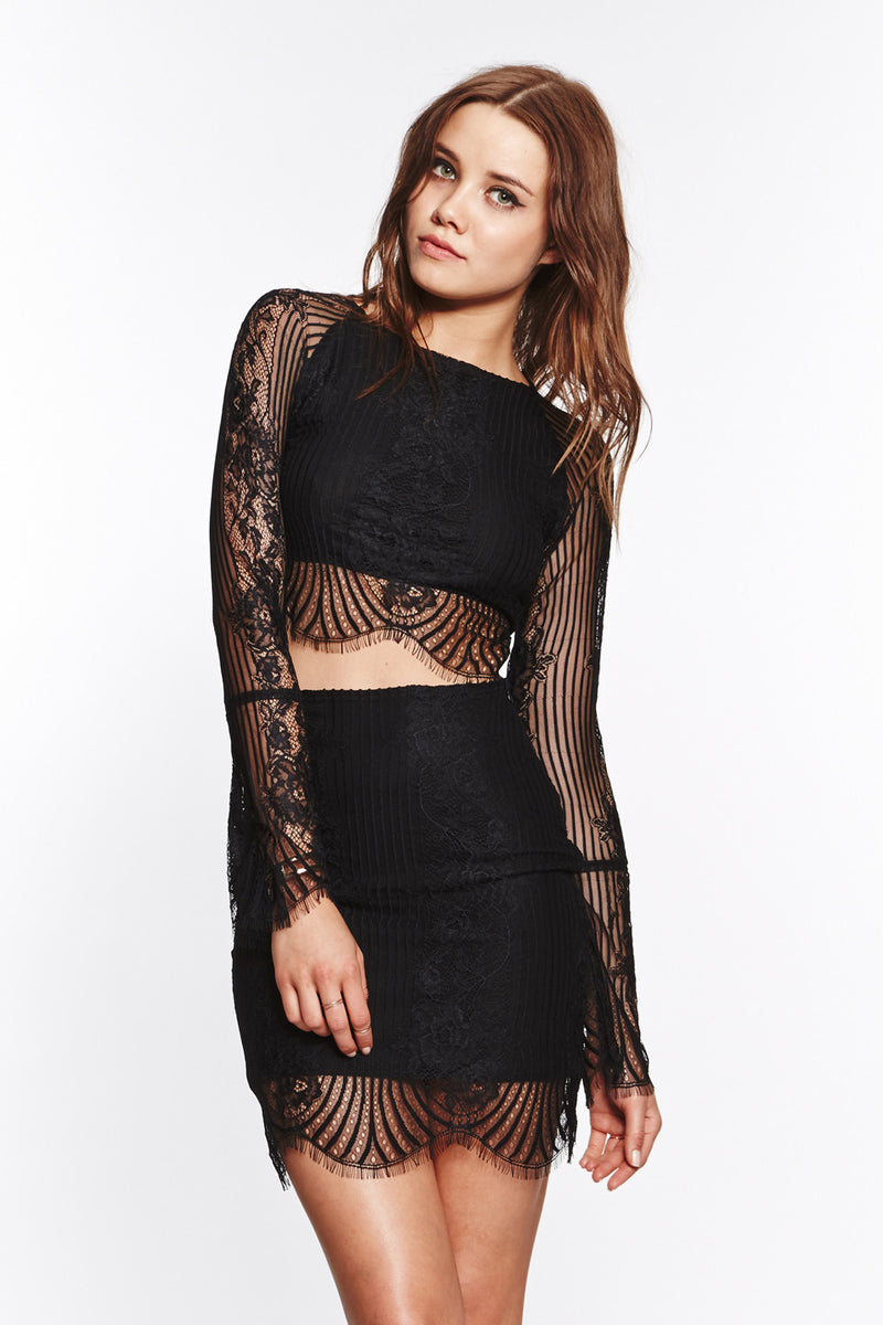 Lolo Crop Top - Black