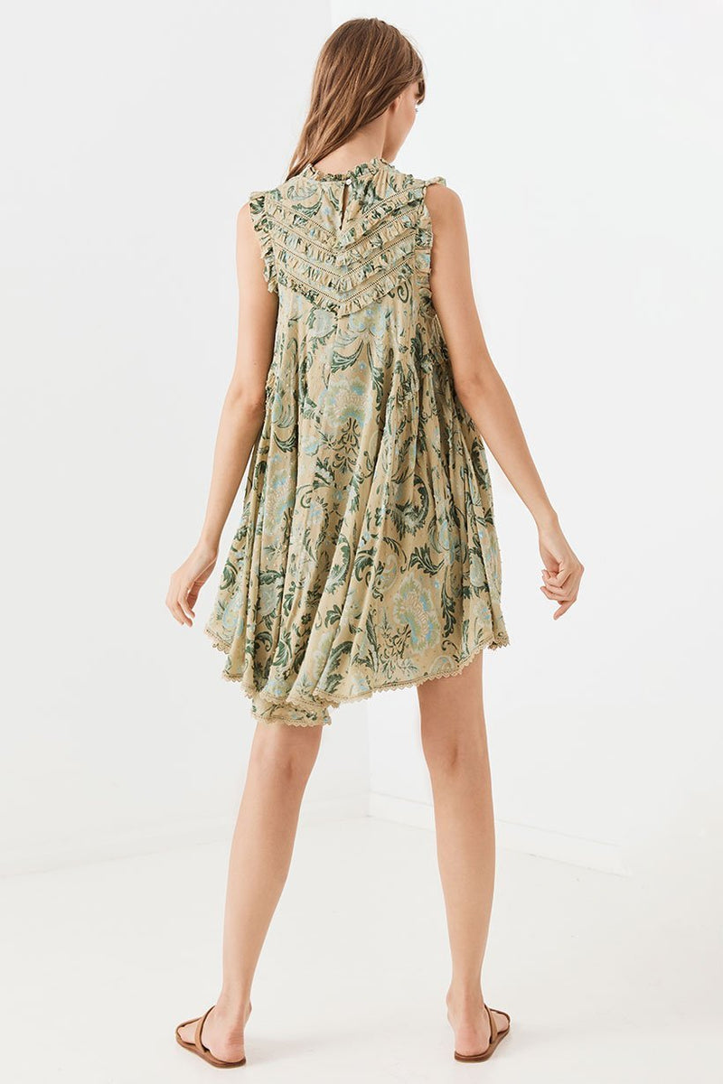Aurora Tunic Dress - Avocado