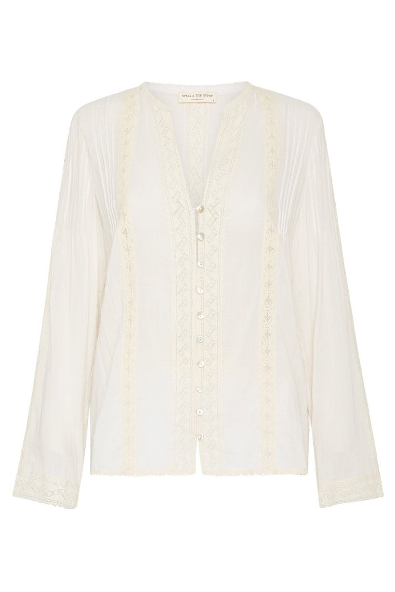 Cinder Blouse - Off White
