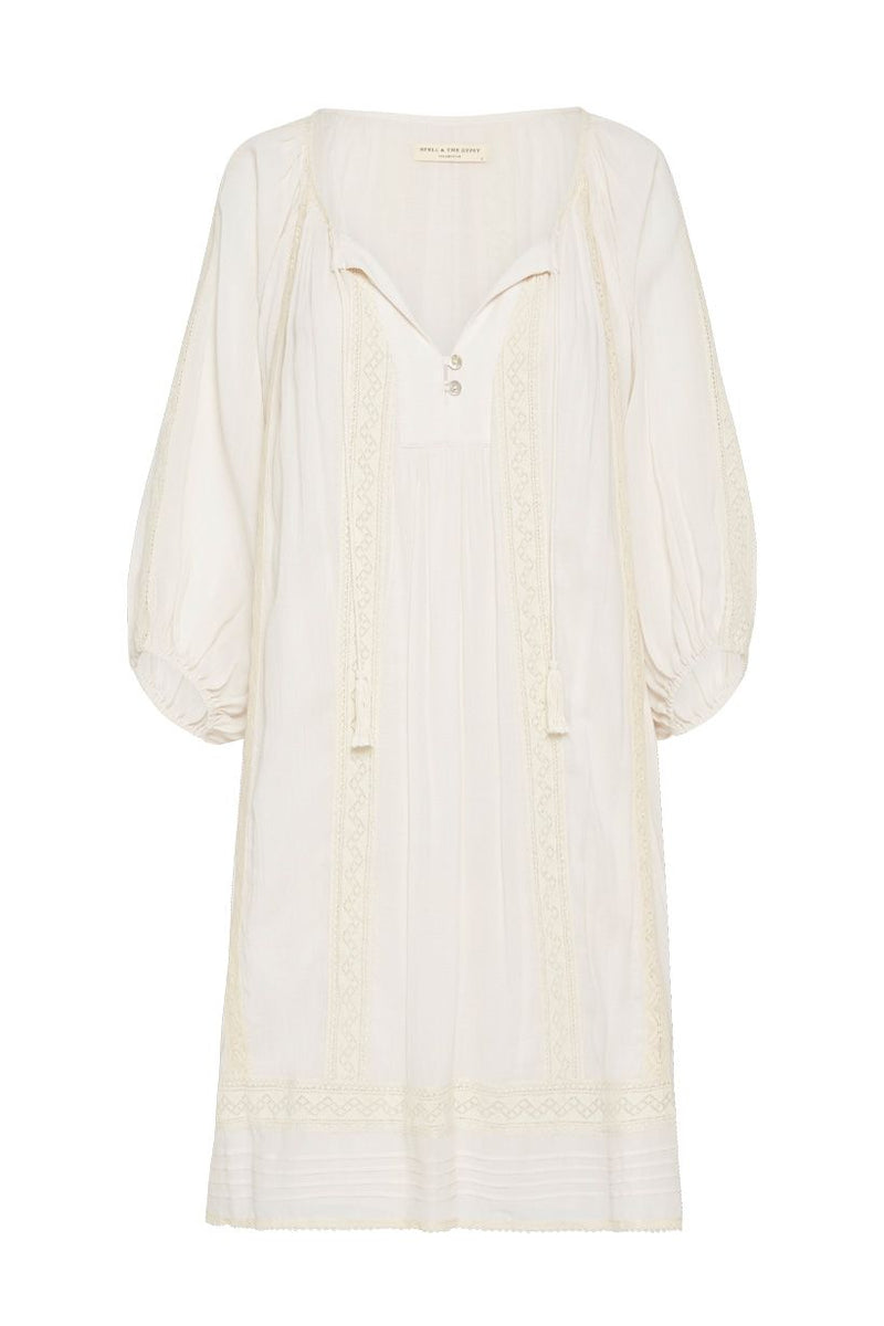 Cinder Tunic Dress - Off White