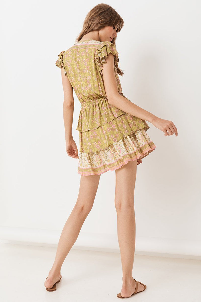 Dahlia Ra-Ra Playdress - Bronze
