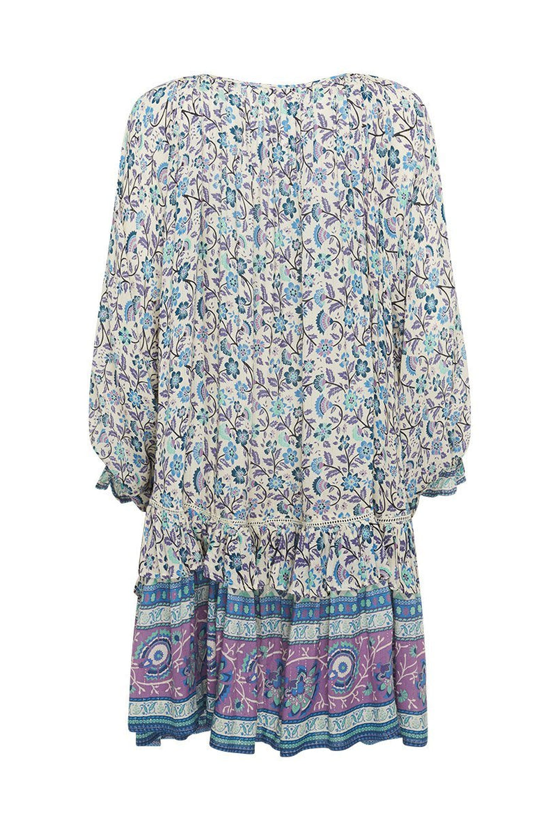 Dahlia Tunic Dress - Dusty Blue