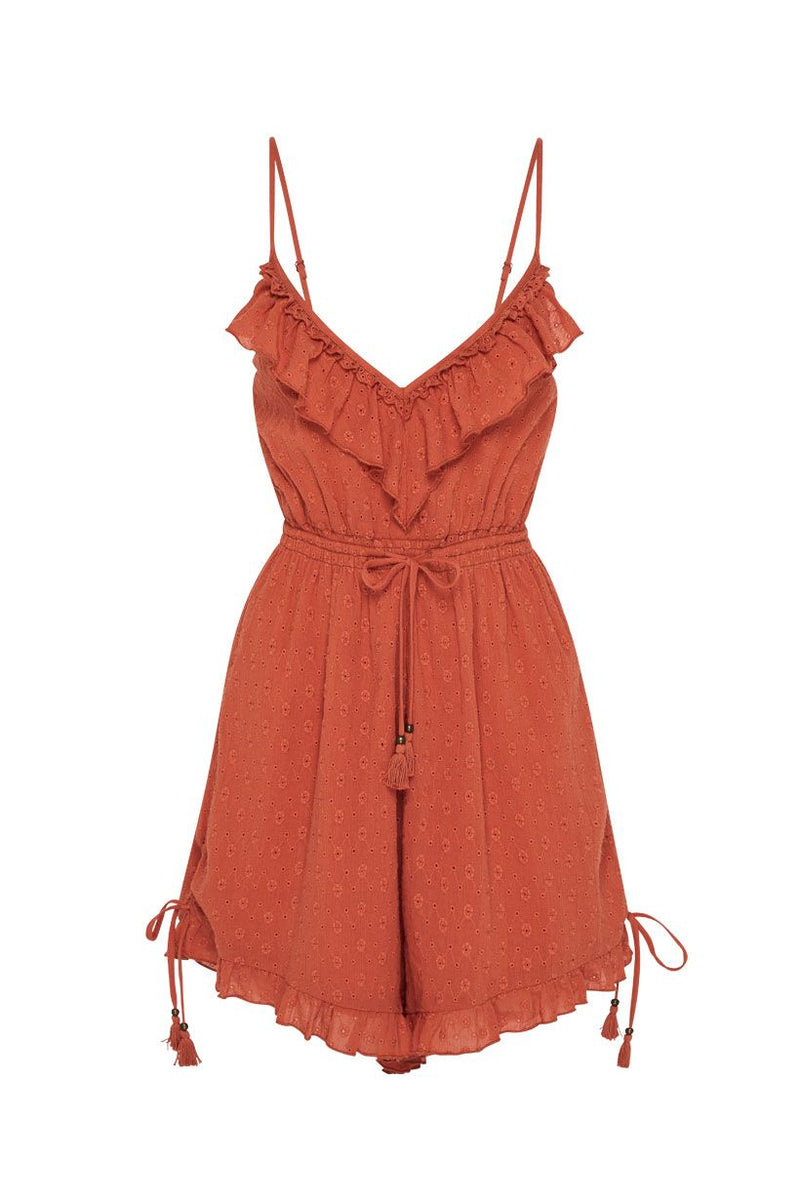 Daisy Chain Romper - Copper (4529877647441)