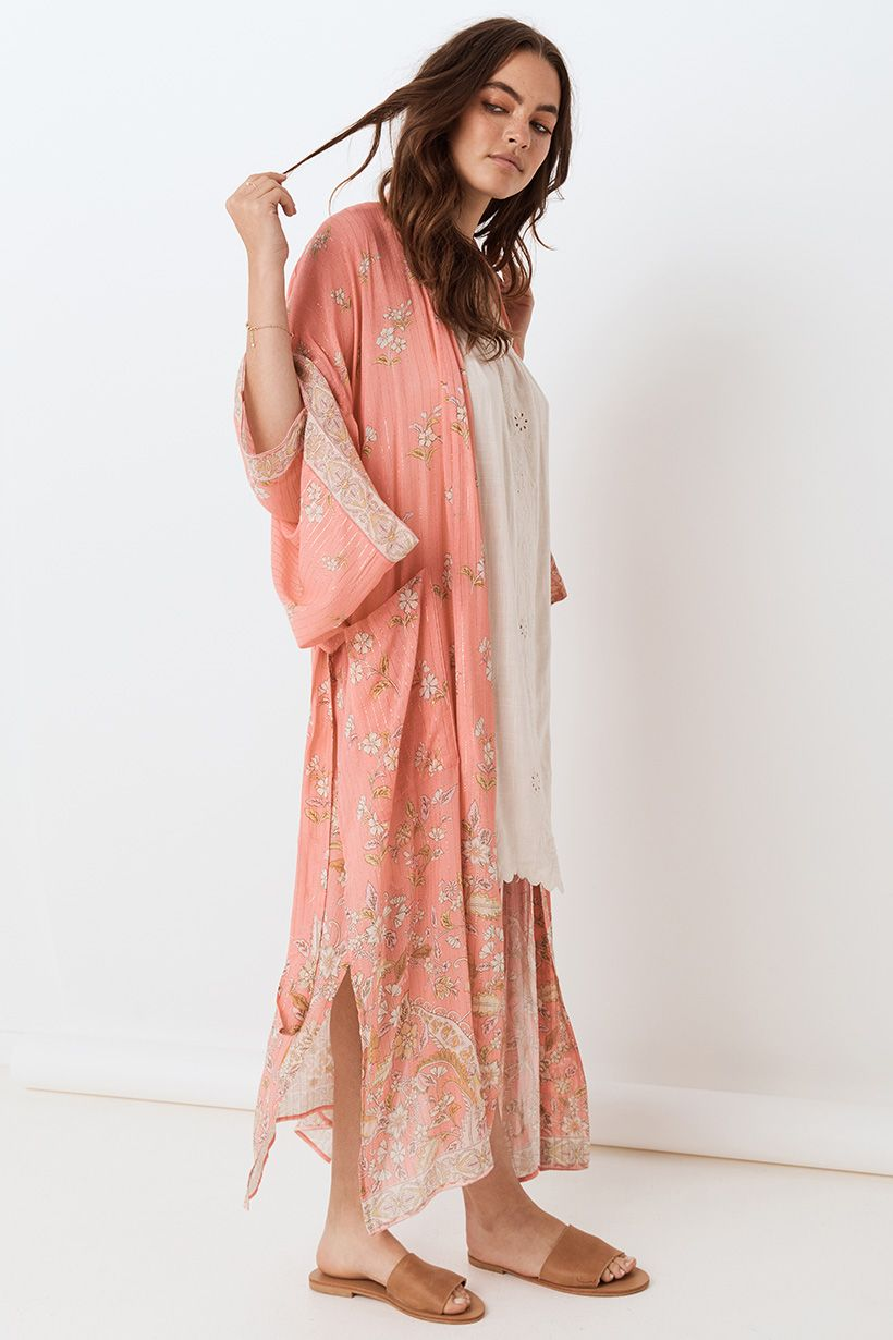 Hendrix Robe - Dusty Pink (4503549247569)