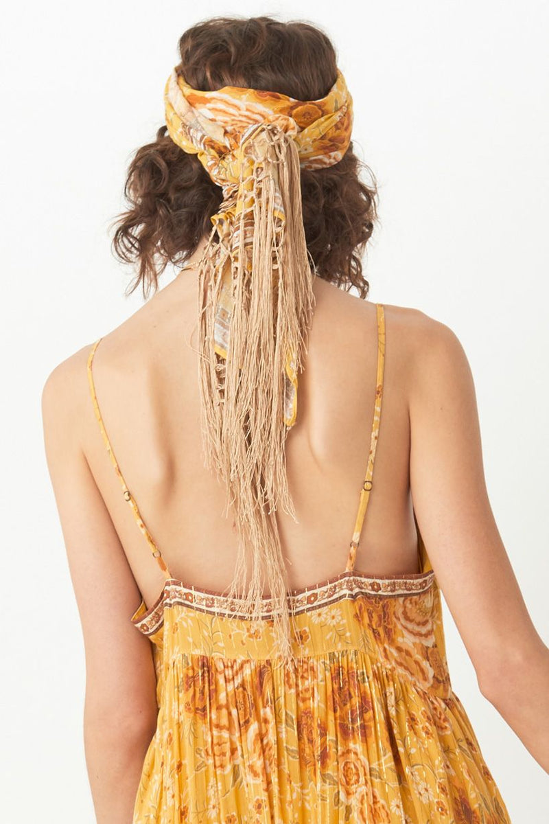 Mystic Head Scarf  - Sunflower