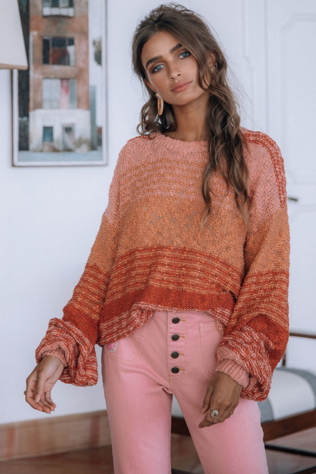 Over The Rainbow Knit - Sunrise