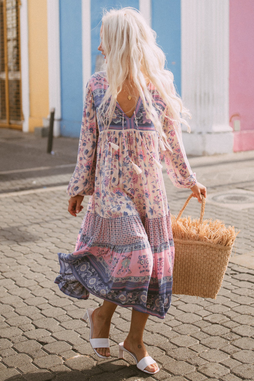 Portobello Road Boho Dress - Lavender