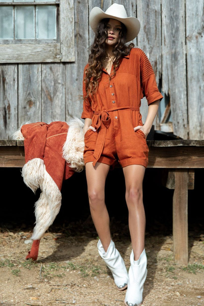 Rani Romper - Copper