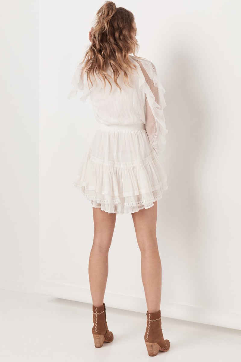 Grace Tulle Playdress - White