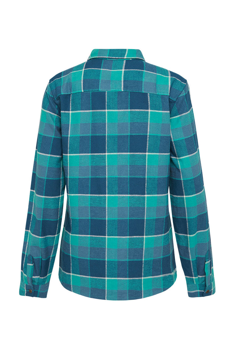 Maverick Flannel Shirt - Ocean