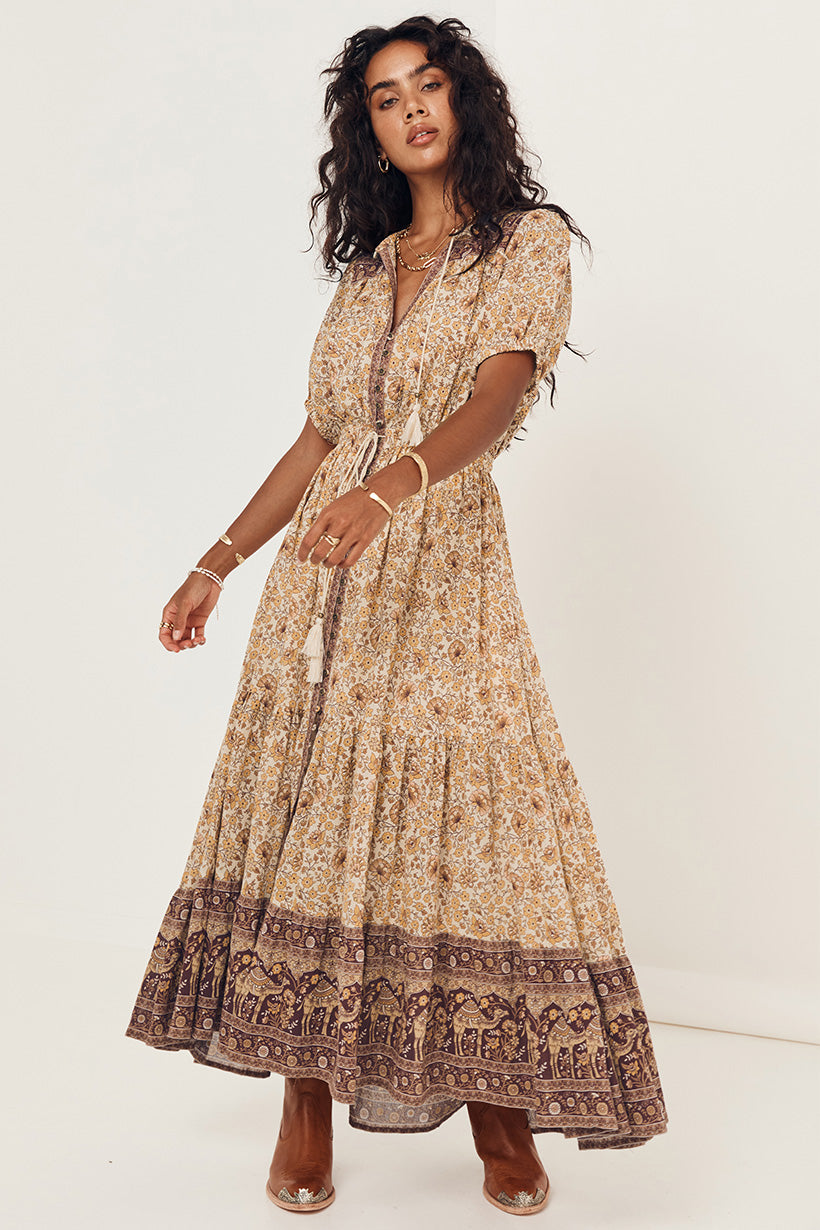 Sundown Gown - Spice