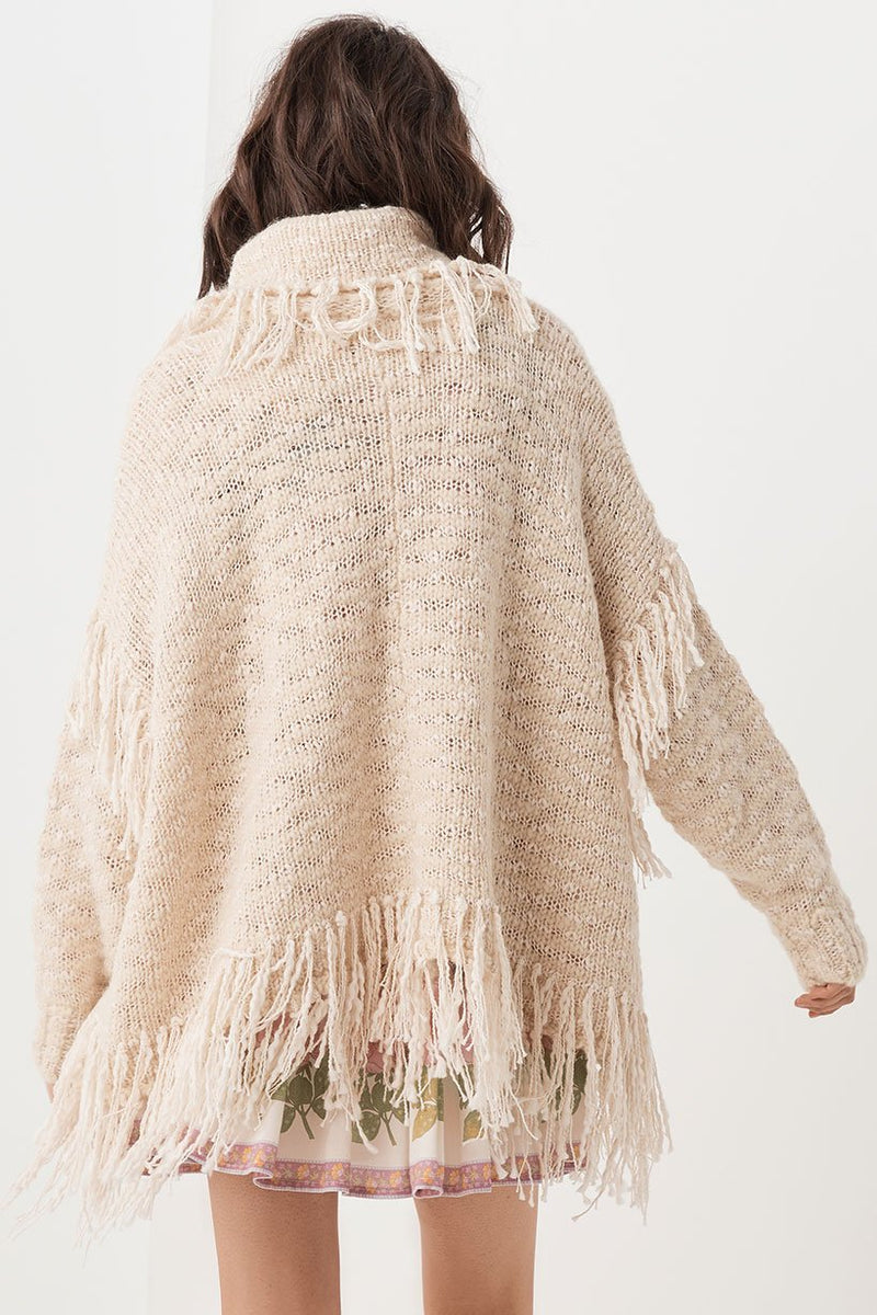 Kimba Knit Sweater - Almond (3696662741056)
