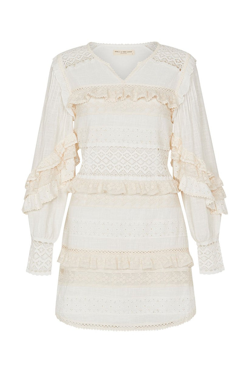 Suki Mini Party Dress - White