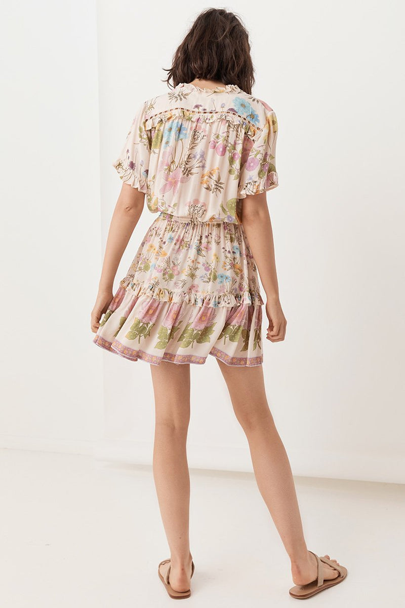 Wild Bloom Playdress - Cream