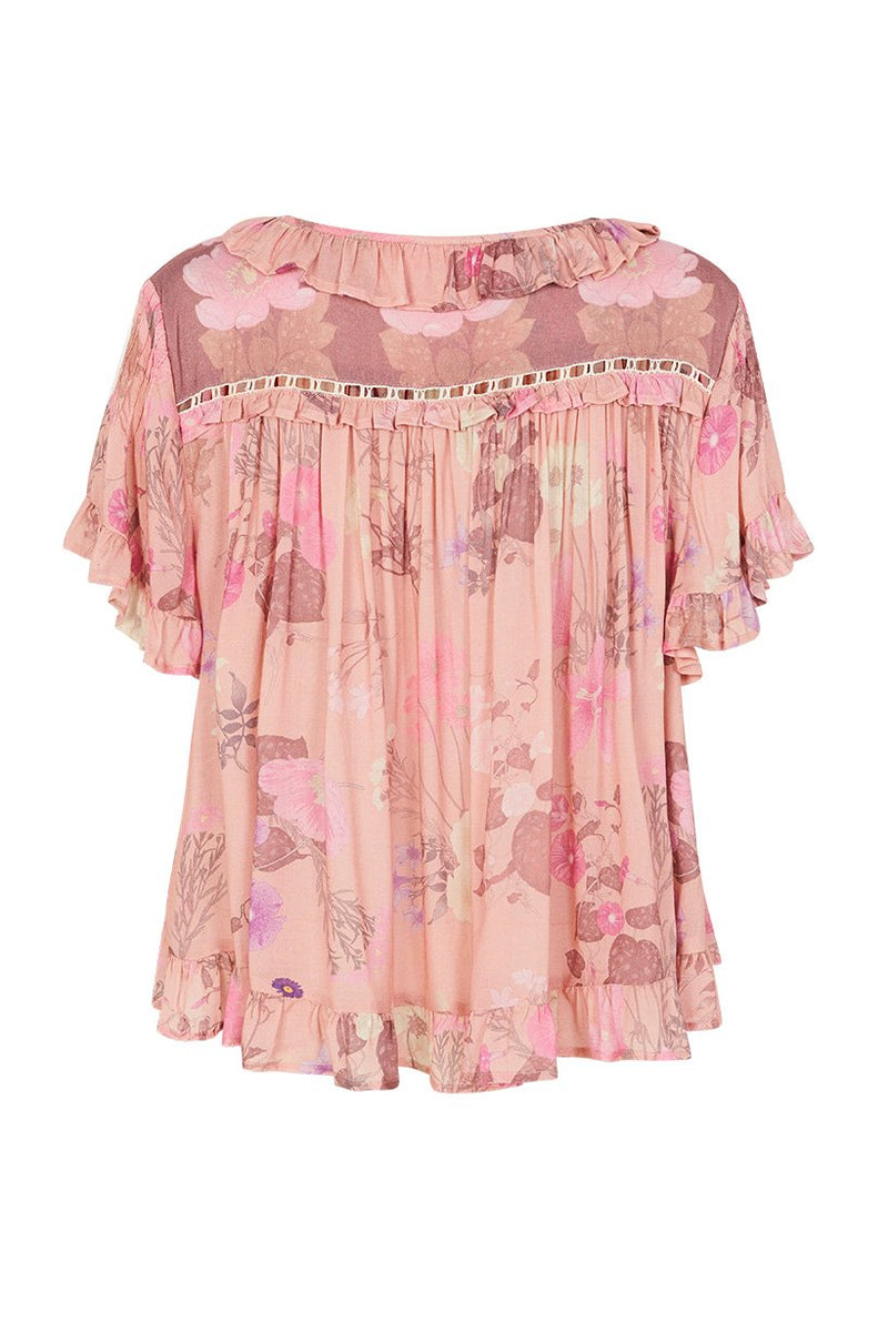Wild Bloom Top - Blush (3697254727744)