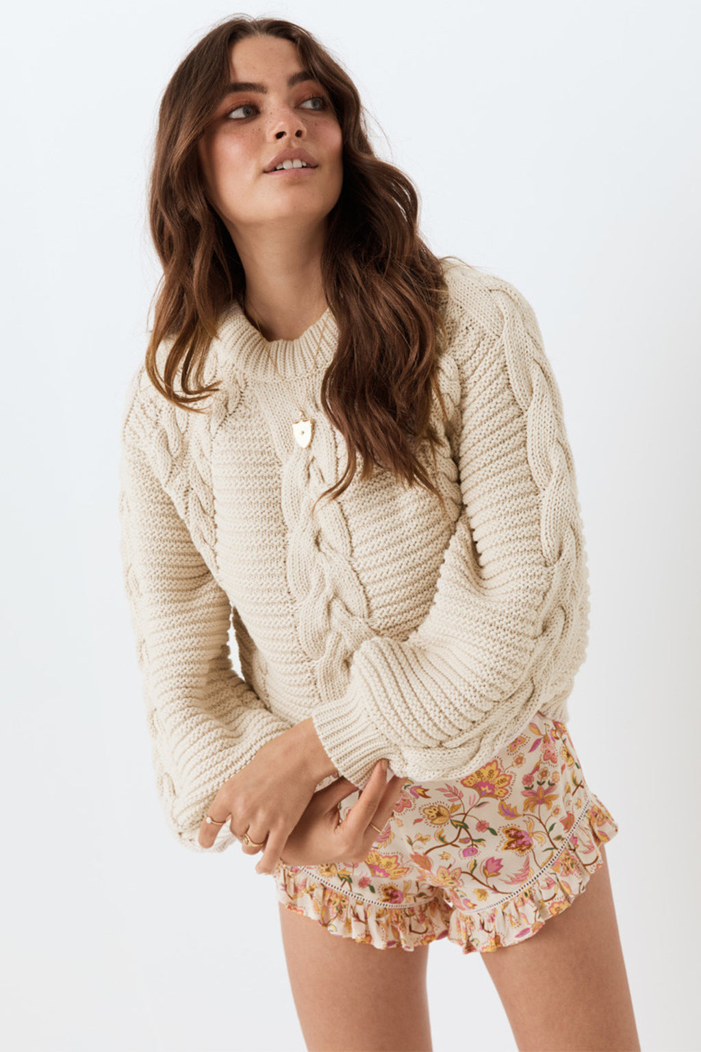 The Brunch Cable Knit Jumper