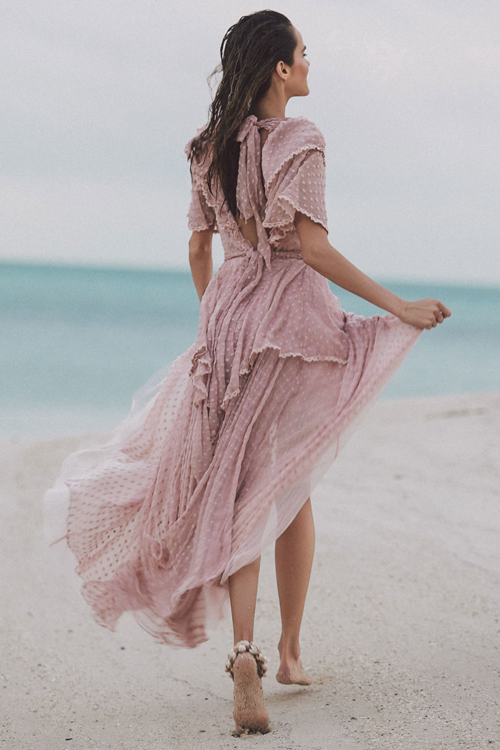Zoe Gown - Rose (4354711912529)