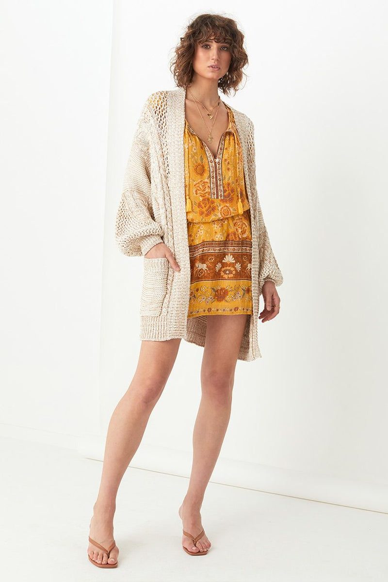 Carmen Knit Cardigan - Cream
