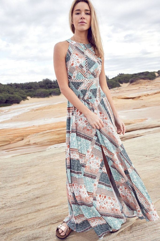 Endless Summer Dress - Mint Marseilles